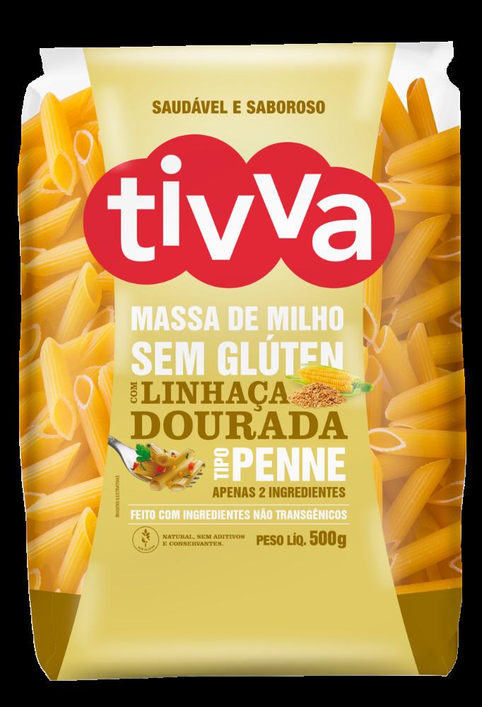 TIVVA_500g_PENNE-DE-MILHO-LINHACA-DOURADA_FRENTE