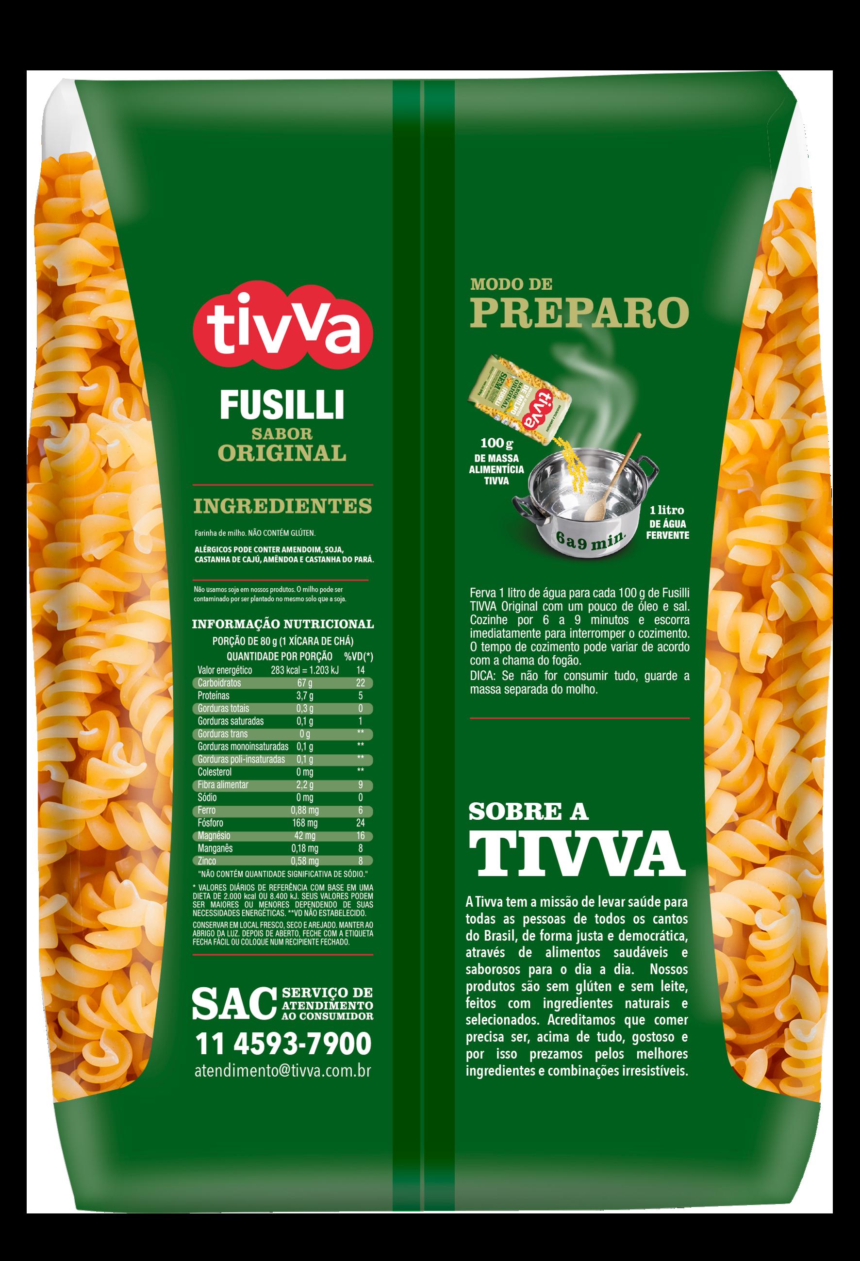TIVVA_500g_FUSILLI DE MILHO - ORIGINAL_VERSO
