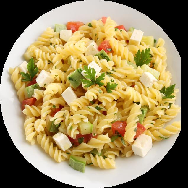 Prato macarrão